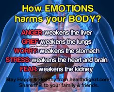 """How EMOTIONS harm your BODY"""