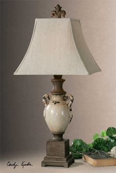 Uttermost Francavilla Ivory Table Lamp