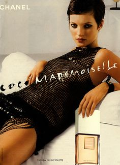 Coco Mademoiselle by Chanel avec Kate Moss 2