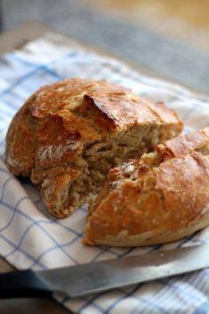 Köökistä kajahtaa: Vaiva(ama)ton leipä
