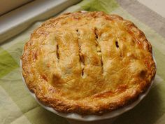 brown butter and cheddar apple pie, a sweet-and-savory twist on classic apple pie