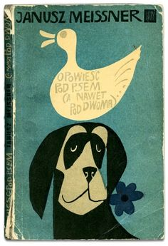 Vintage book cover (Polish)