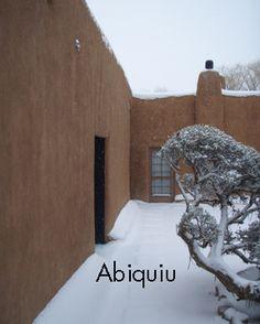Ghost Ranch, Abiquiu, NM - Georgia O'Keeffe's home and studio