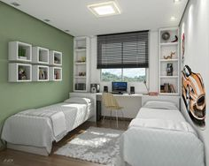 Teen bedroom ideas that anyone will want to copy 41 Attic Bedroom Designs, Boys Bedroom Decor, Small Room Bedroom, Teen Bedroom, Home Bedroom, Bedroom Ideas, Modern Boys Rooms, Single Bedroom, Kids Room Design