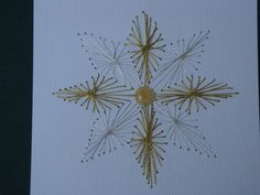 Hand stitched Christmas flower cards notecard for by CreationsbyDJ