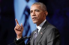 Former President Obama in a speech in Canada on Tuesday said Western values are still the envy of the world, and cautioned against embracing isolationism in the face of economic uncertainty.