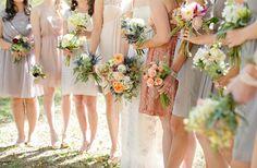 Claudia + Brad « Southern Weddings Magazine - bridesmaids
