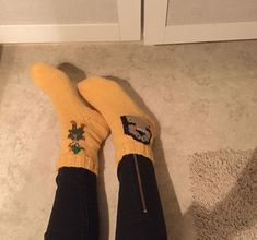 moomin socks // muumisukat