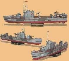 Armored Small Hunter LMC Project 194 Free Ship Paper Model Download
