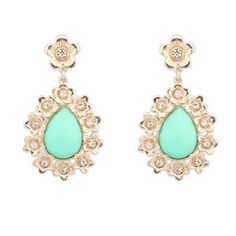 Mint Floral Earrings. Rp 85,000 or $8.5 SALE from Rp 115,000. Material: Alloy, Resin & CZ. Dimension: 6 x 3.5 cm. FREE ongkir seluruh Indonesia. Worldwide shipping. SHOP ONLINE www.reginagarde.com.