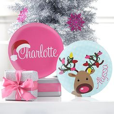Take a look at the Holiday Setting: Personalized Plates event on zulily today!