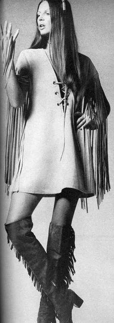 ✿Solo-Vintage✿ | vintagefashionandbeauty: Fringe outfits in...