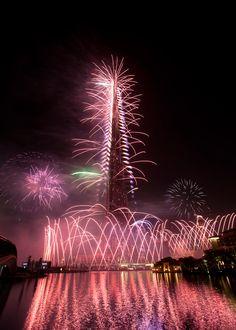 Dubai's New Year Fireworks Targets Guinness Book of World Record Dubai's New Year Fireworks Targets Guinness Book of World Record