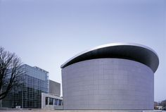 Van Gogh Museum Exposition wing, Kisho Kurokawa | Amsterdam | Netherlands | MIMOA