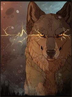 Wolves. I feel like calling this a supernatural elemental wolf because it looks so cool (Heat Syndrome by MapleSpyder)