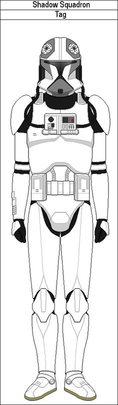 Template For New Clone Pilotfree To Usejust Credit Marcusstarkiller And Me For The Mod Clone Gunship Pilot Template By