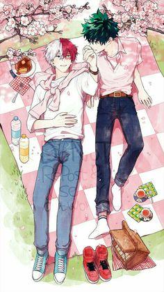 Anime Yaoi Fanart - Lưu Trữ - Boku no Hero Academy: Todoroki x Midoriya(1) - Page 2 - Wattpad