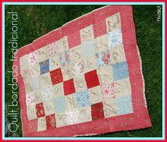 Quilt bordado tradicional
