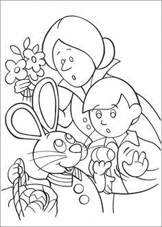Peter Cottontail Kleurplaten voor kinderen. Kleurplaat en afdrukken tekenen nº 41