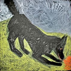 Blood licking dog, Johannes Fuska Moose Art, Blood, Dogs, Animals, Kunst, Animales, Animaux, Pet Dogs, Doggies