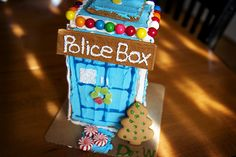 Dr Who Gingerbread H