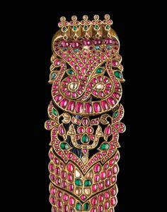 3. IRJF Indian Jewels - Tamil Nadu hair ornament (cat. 6)