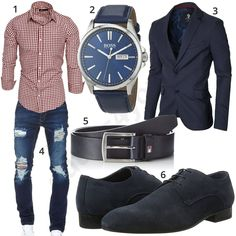 Business-Style mit kariertem Hemd, Jeans und Sakko #hemd #sakko #business #elegant #outfit #style #herrenmode #männermode #fashion #menswear #herren #männer #mode #menstyle #mensfashion #menswear #inspiration #cloth #ootd #herrenoutfit #männeroutfit #mann #gentlemen