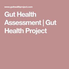 Gut Health Assessment | Gut Health Project