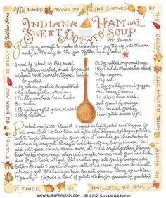 Indiana Ham and Sweet Potato Soup - Susan Branch