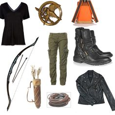 "Katniss Everdeen from ""The Hunger Games"" For extra credit I have to dress up as a literary character--Katniss it is!! Does anyone have a toy bow and arrow I can borrow??"