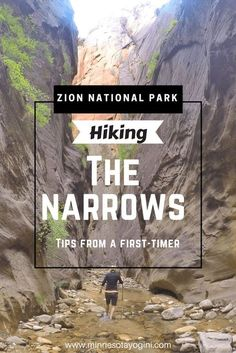 Minnesota Yogini - Hiking The Narrows in Zion National Park - Tips From a First-Timer - Minnesota Yogini