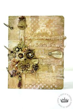 Other: Mixed Media Journal Cover**Swirlydoos October Kit Belle Chanson**by Frank Garcia