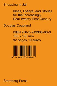Sternberg Press - Douglas Coupland