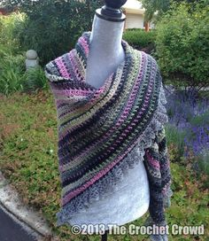 Crochet Shawl Pattern...wish I knew how to crochet! I would make tons!!