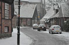 Ootmarsum coverd in snow