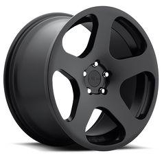 Rotiform NUE Wheels Matte Black 18x8.5 | 5x112 | ET45