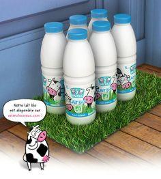 [Nouveauté vachement #bio] Le #lait bio demi-écrémé #les2vaches disponible exclusivement sur http://www.evianchezvous.com ! Vachement bio-n, vachement  #pratique ! @les2vaches @verygoodmoment