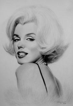Marilyn, artist: Bruno Pagliarulo