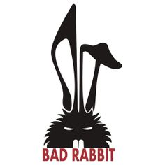 Bad Rabbit Tee Design alternative  http://www.redbubble.com/people/haroldramp/works/10235346-bad-rabbit?ref=work_carousel_work_portfolio_1