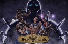 """8 Likes, 2 Comments - The art of David Lenormand (@hydriss2802) on Instagram: """"Black Sands characters (visual novel)"""""""