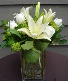 White Lily Gift Arrangement - Aspen Branch Original - www.aspenbranch.com