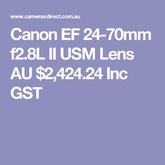 The new version of Canons II whilst expensive is sure to impress. For brilliant landscapes, portraits and close-up photography, look no further than the EF II USM. Canon 35mm, Canon Ef, Canon Cameras, Canon L Series, Close Up Photography, F 1, Camera Lens, Digital Camera, Lenses