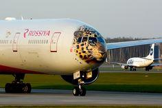 Boeing 777-312. Rossiya Airlines. EI-UNP.(Уссурийск).