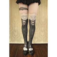 corset tights victorian -black- - abilletage【アビエタージュ】 コルセット通販