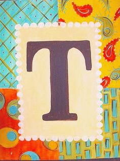 One of the prettiest ways I've seen to paint someone's initial. - from Easely Amused Initial Canvas, Initial Art, Classroom Art Projects, Art Classroom, Fun Projects, Classroom Ideas, Fine Art Photo, Photo Art, Paint And Sip