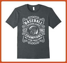 14bc55bd Mens Baseball Superior League All Star Champions Funny T-Shirt 3XL Dark  Heather - Sports shirts (*Partner-Link)