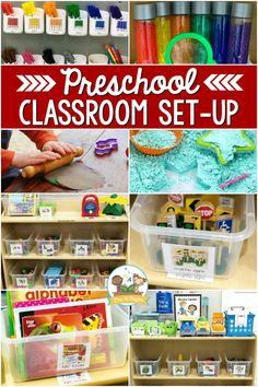 Creative Curriculum Preschool, Kindergarten Classroom Setup, Preschool Classroom Management, Pre K Curriculum, Toddler Classroom, Classroom Design, Preschool Kindergarten, Future Classroom, Classroom Decor