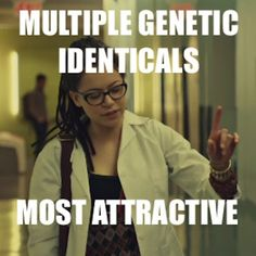 "Bottom line: Cosmia Niehaus is the best clone on Orphan Black. | Cosima Is The Best Clone On ""Orphan Black"" Because Science Says So"