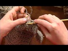 Knit the Alpaca Scarf, Hat, and Vest Trio from Knitting Daily TV Episode 905  (Cool stitch pattern. CBS)