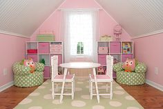 attic room//this would be great for the two babydolls when you build